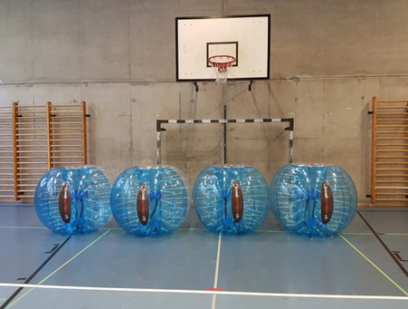 Die Bubbles sind bereit
