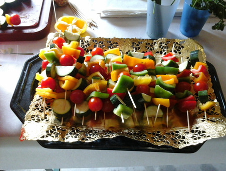 Gemüse-Spiessli