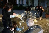 Eiskulpturen schnitzen/gestalten