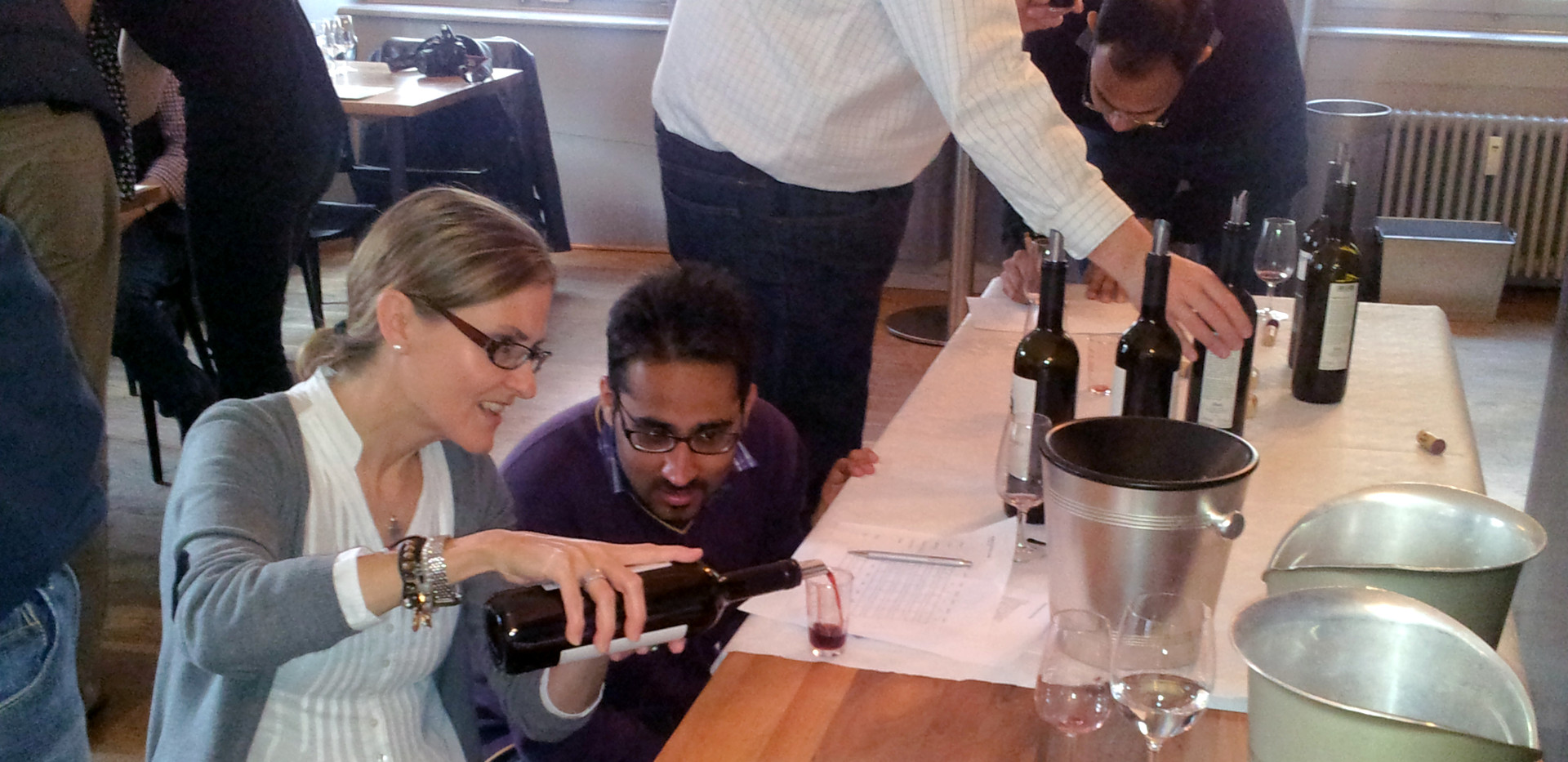 Wein Assemblage