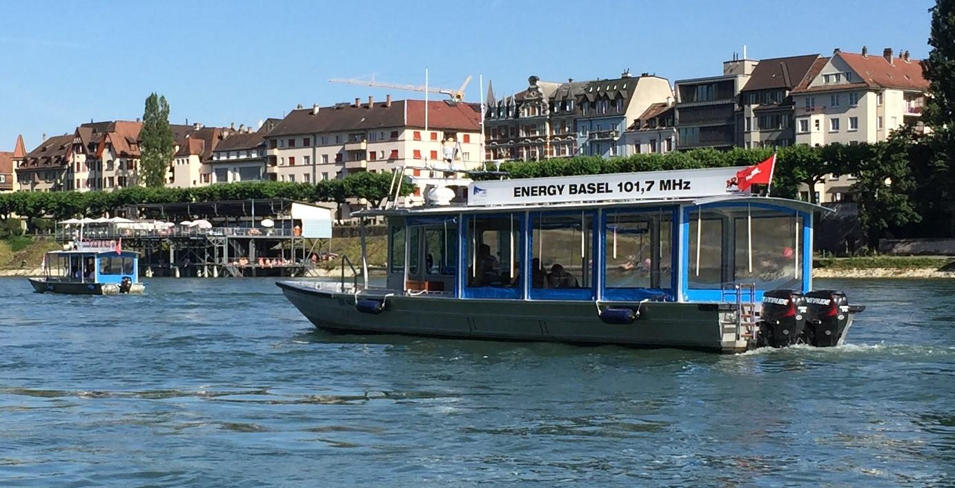 Rhein-Boot-Hunt, Boote in Aktion