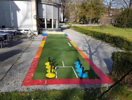 Teppich Curling Outdoor