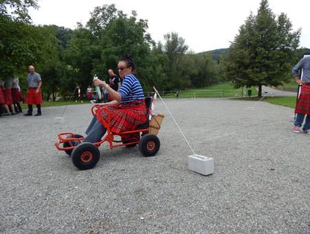 Lachs fangen mit Fun-Racer