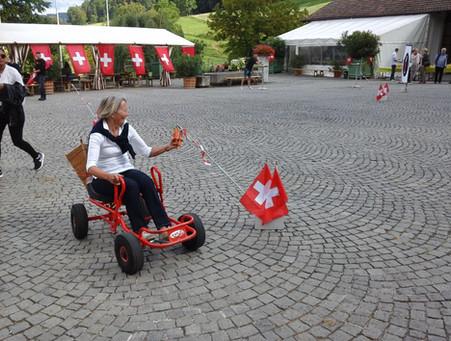 Rüebli-Parcours mit Fun-Racer