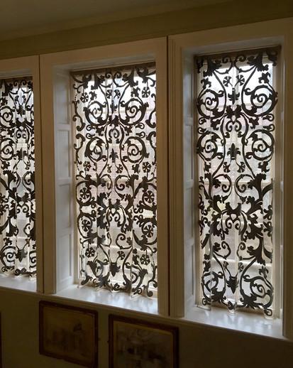 Richmond bespoke sheer lace window panels