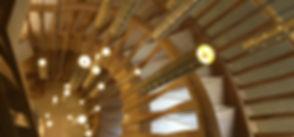 Heavy Rain Bespoke 5m Staircase Chandelier