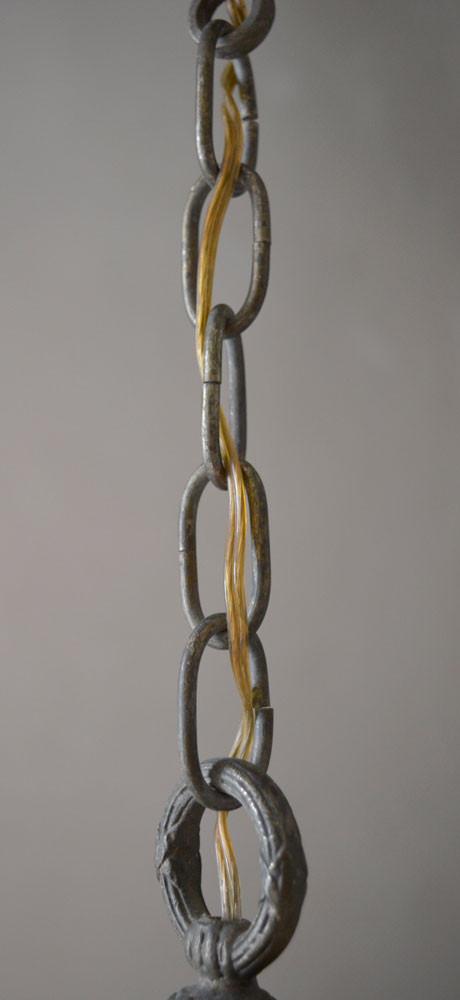 Vintage Pendant Lamp Suspension Chain