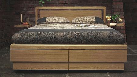 super king boxer drawer storage bed oak