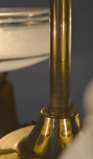 French Vintage Chandelier Detail