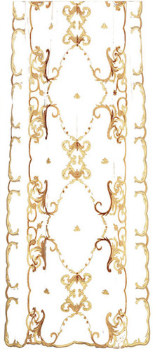 Florence classic sheer curtain panel