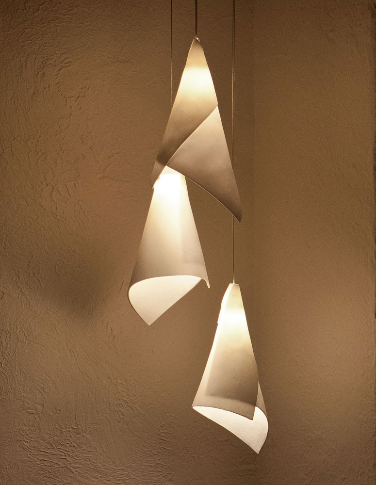 Arum Triple Shade Chandelier Ilanel