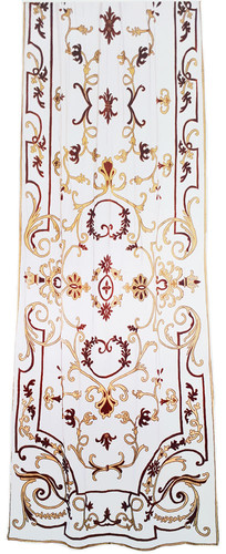 Chatsworth Embroidered Sheer Net Curtain Panel