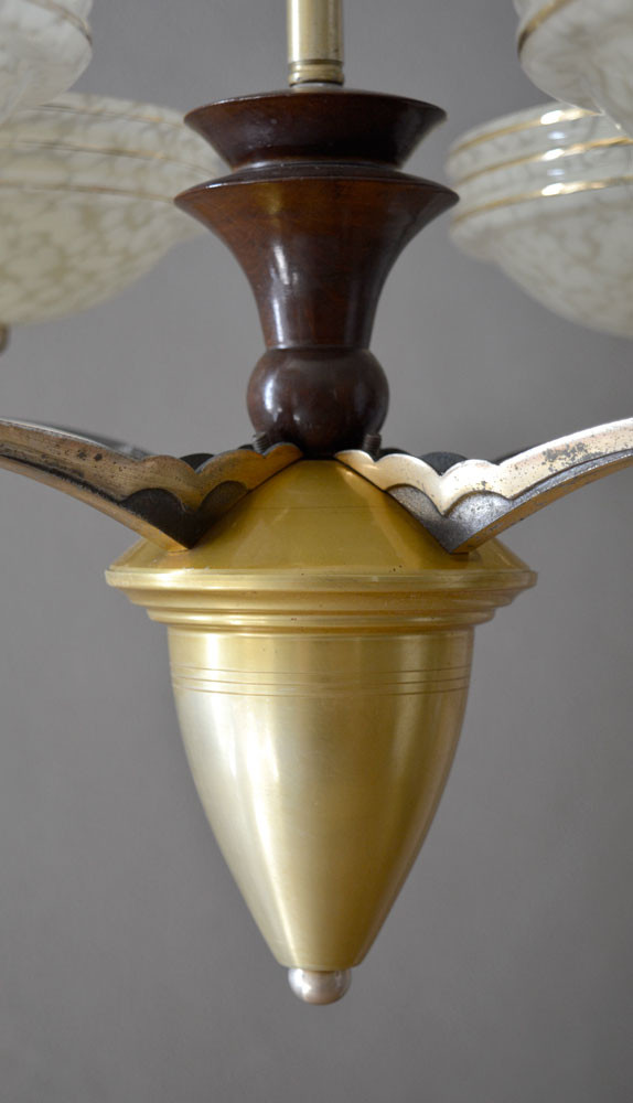 Vintage French Chandelier Frame Detail