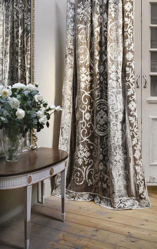 Whitehall classic velvet portiere