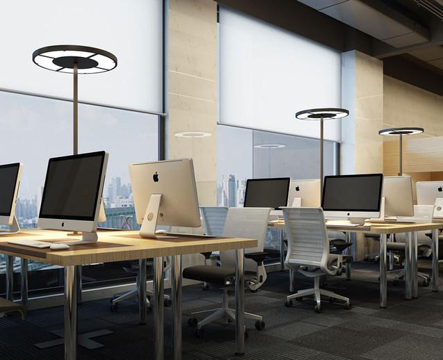 Rotonda Office Desk Work Light Byok