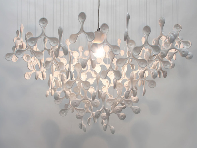 Drawn To The Light 90 Porcelain Chandelier