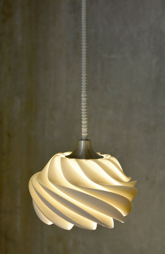 Konko Digitally Printed Shell Pendant Light