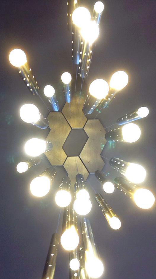 Rain Drop Chandelier Light