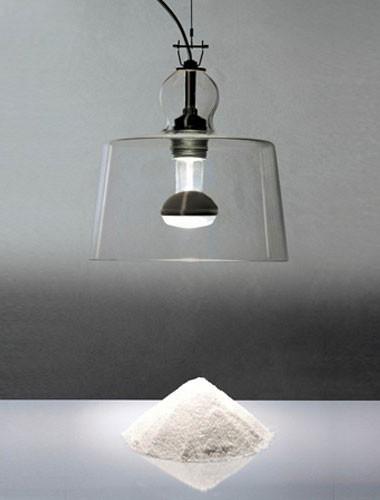Acquatinta Transparent Murano Pendant Light