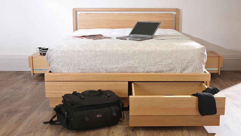 king size boxer storage bed