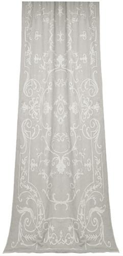 Chatsworth Natural Linen Curtain Panel