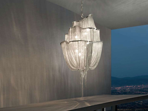 atlantis sculptural chain chandelier terzani within4walls