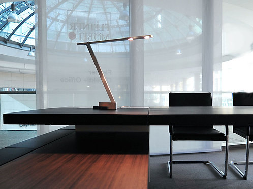 Nastrino LED Desk Light on Desk Office Setting