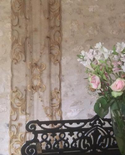 Florence classic design wall drape