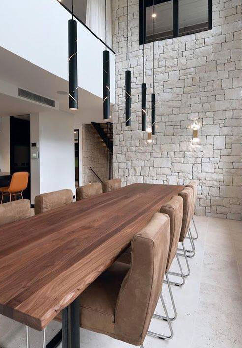 Black Rain Dining Table Pendants