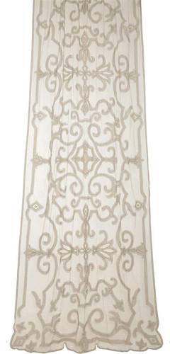 Isobel sheer net curtain panel