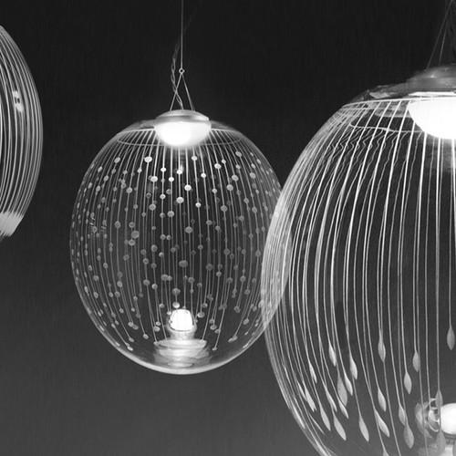 Kirchschlag crystal pendant light series · kirchschlag pendant light close up