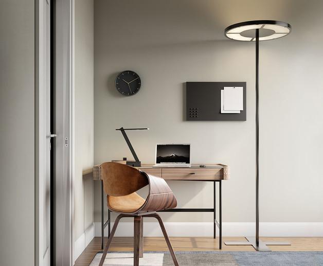 Rotonda LED Work Floor Light