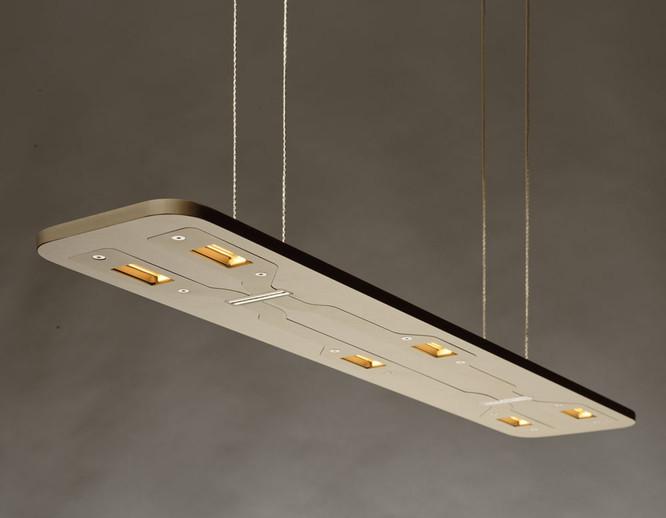 Piani Mono Small Aluminium LED Pendant