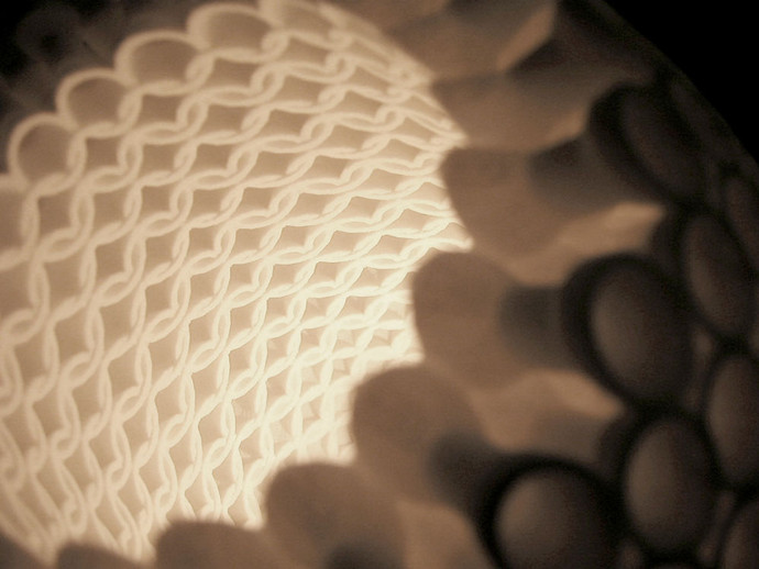 Ratio.MGX Lamp Shade Detail MGX by Materialise