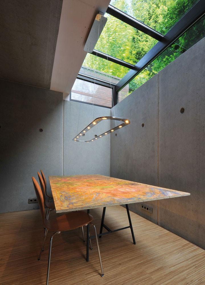 Piani Lungo 140 Sleek Aluminium LED Pendant
