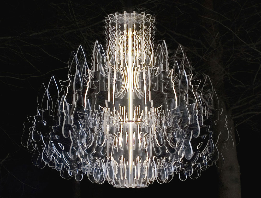 Therese Acrylic Sheet Chandelier