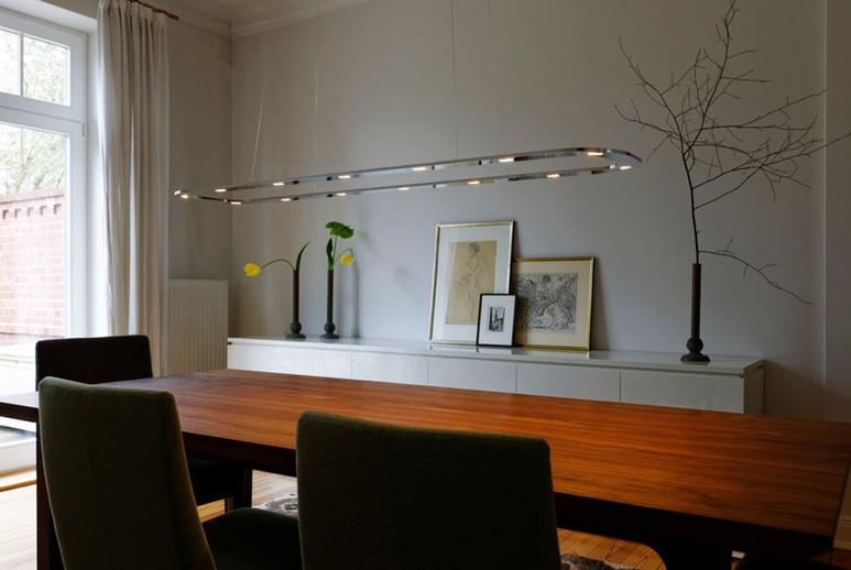 Piani Lungo 140 LED Pendant Light Byok