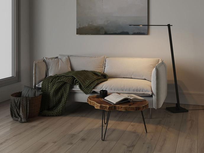 Nastrone Adjustable LED Floor Lamp Byok