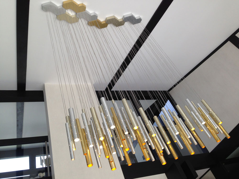 7 Rain Cloud Chandelier Ilanel