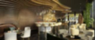 Rain Single Pendants Ritz Carlton Astana