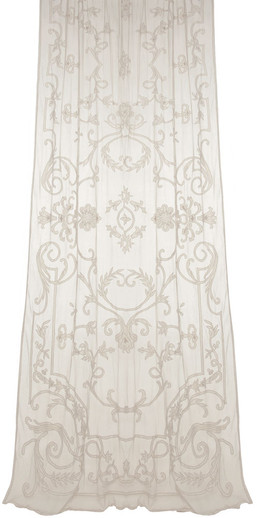 Chatsworth Embroidered Sheer Net Panel