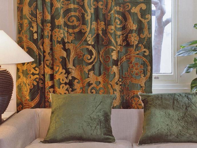 richmond velvet curtain panel