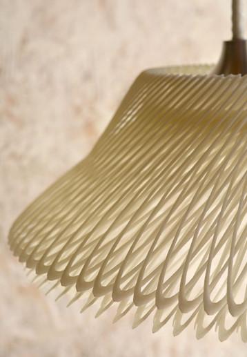 Supersigno 3D-Printed Pendant Lamp Detail