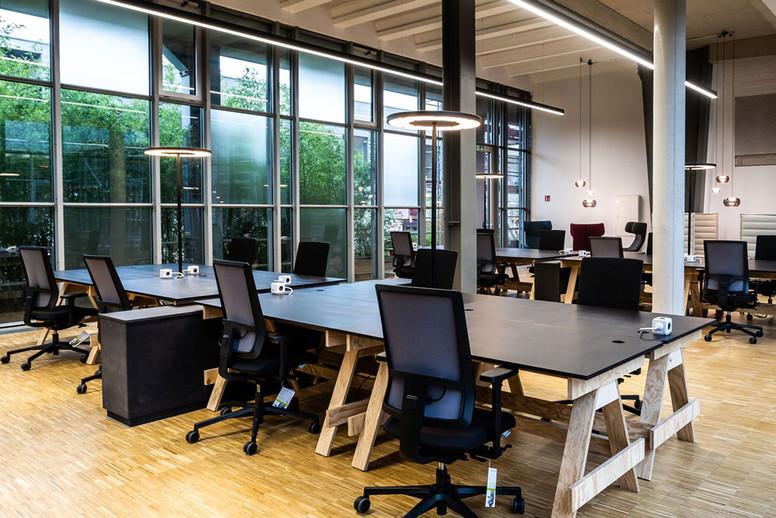 Rotonda Office Desk LED Lighting