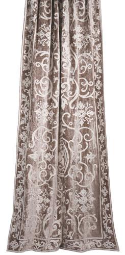 Whitehall classic velvet curtain panel