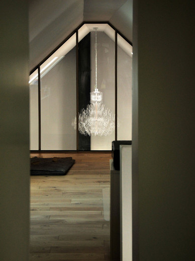 Therese Clear Acrylic Chandelier