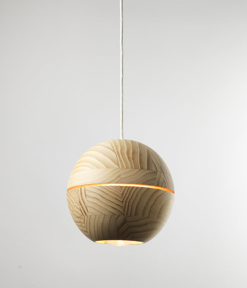 Saturn pendant lamp lime