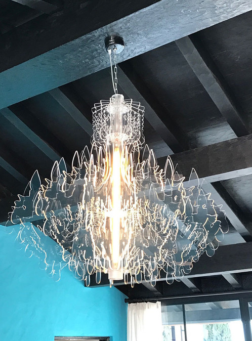Therese acrylic chandelier sander mulder within4walls therese acrylic classic chandelier aloadofball Choice Image