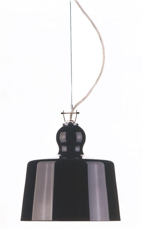 Acquatinta Black Pendant Michele de Lucchi