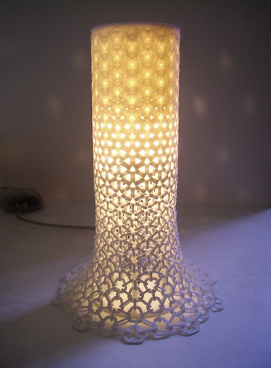 Con_Sequence.MGX 3D-Printed Table Light One & Co